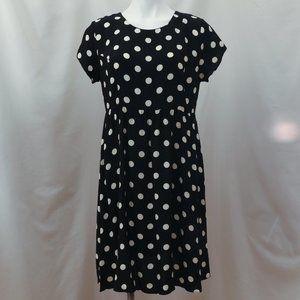 Top Shop Polka Dot Maternity Dress.